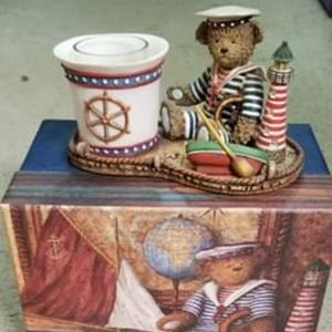 "Lang Votive candle holder ""Bears Ahoy"""